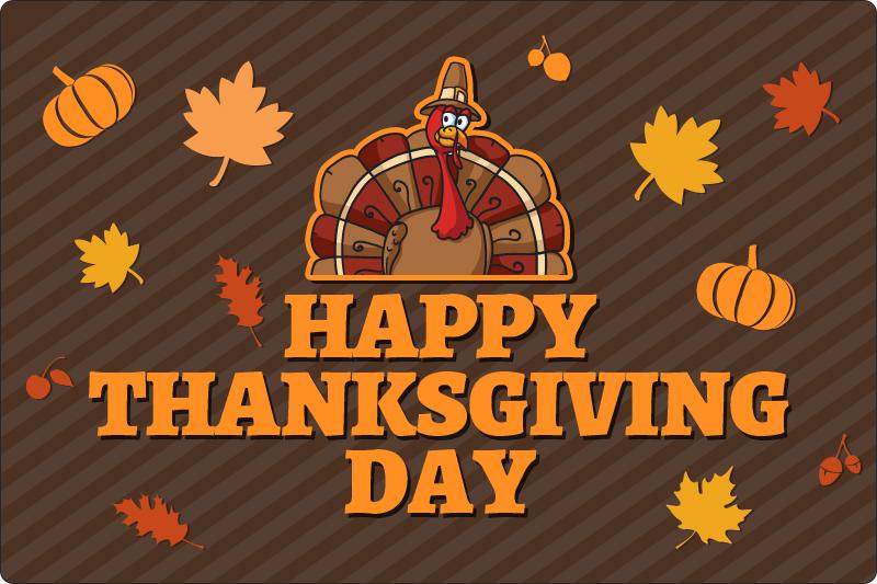 šťastný deň vďakyvzdania