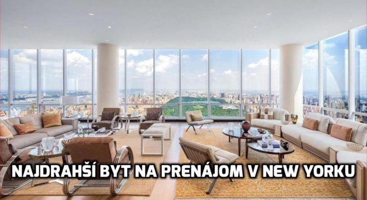 najdrahsi prenajom new york
